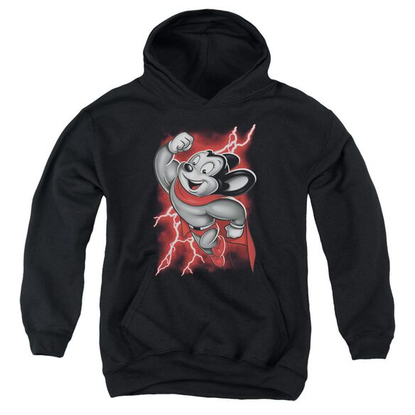 Mighty Mouse Mighty Storm Youth Pull Over Hoodie