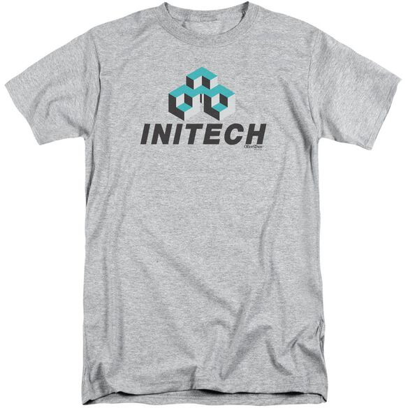Office Space Initech Logo Short Sleeve Adult Tall Athletic T-Shirt
