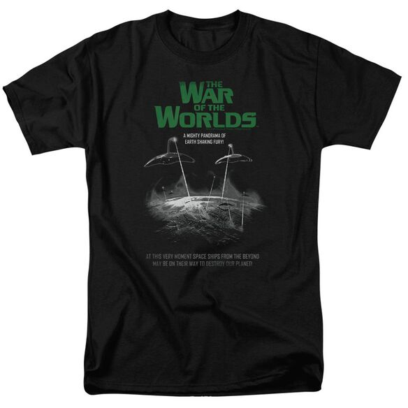 War Of The Worlds Attack Poster Short Sleeve Adult T-Shirt