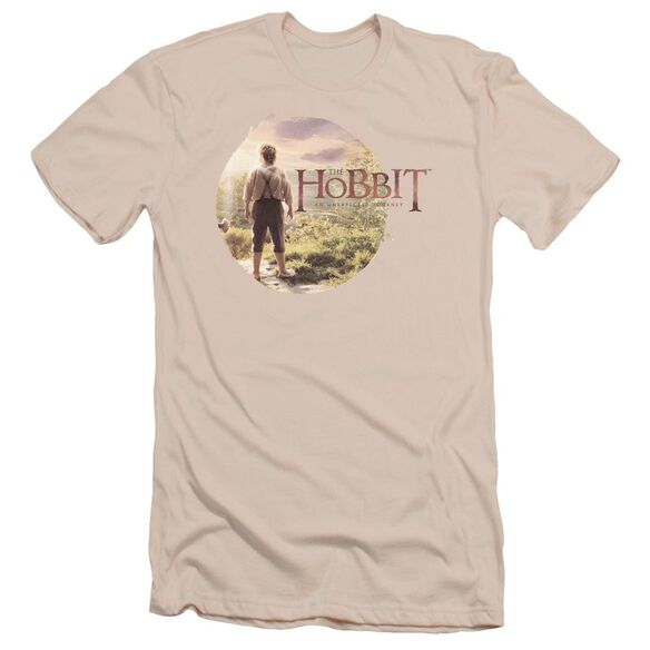 The Hobbit Hobbit In Circle Short Sleeve Adult T-Shirt