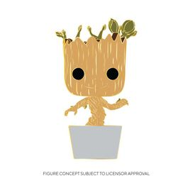 Funko Pop! Pin: Marvel - Baby Groot (w/chase)