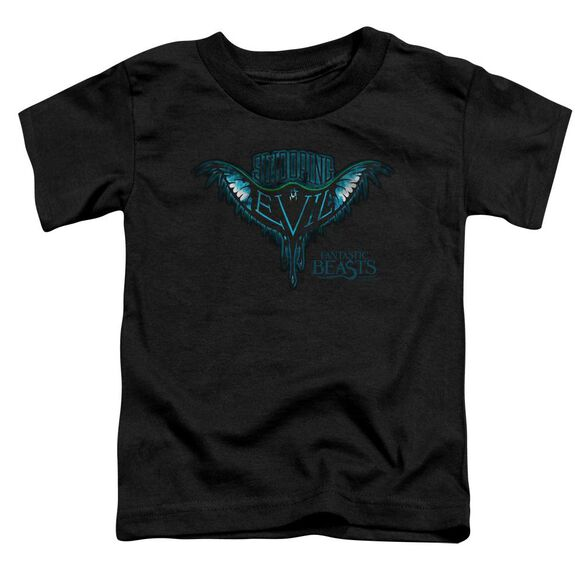 Fantastic Beasts Swooping Evil Short Sleeve Toddler Tee Black T-Shirt