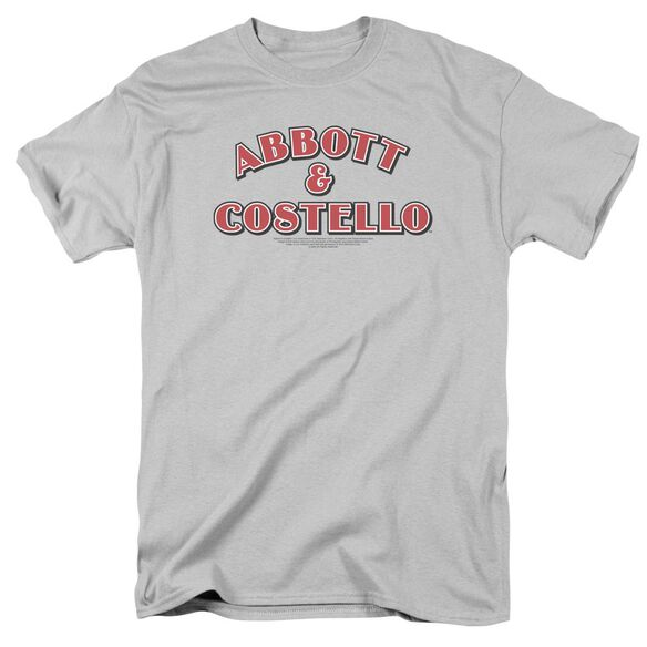 Abbott & Costello Logo Short Sleeve Adult T-Shirt