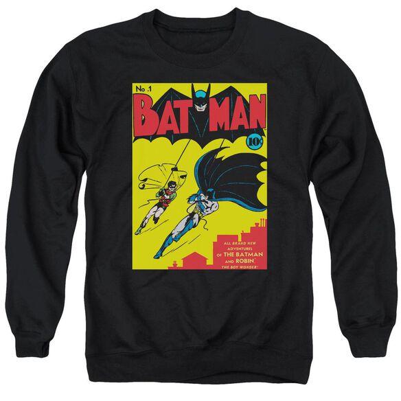 Batman Batman First Adult Crewneck Sweatshirt