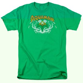 DC AQUAMAN SPLASH - S/S ADULT 18/1 - T-Shirt