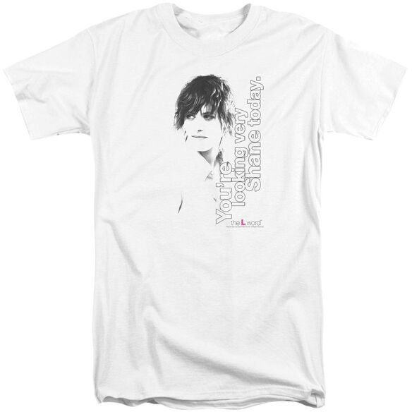 The L Word Looking Shane Today Short Sleeve Adult Tall T-Shirt