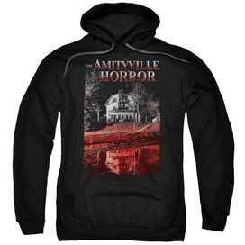 Amityville Horror Cold Blood Adult Pull Over Hoodie Black