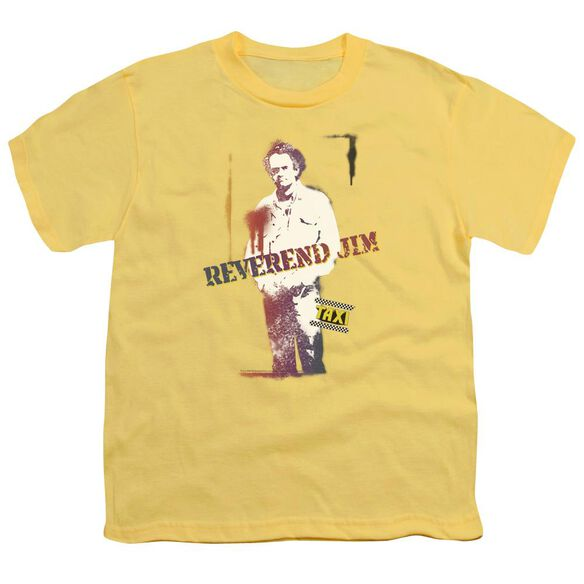 Taxi Reverend Jim Short Sleeve Youth T-Shirt