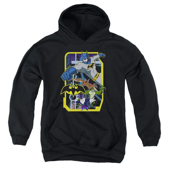 Batman Unlimited Unlimited Villains Youth Pull Over Hoodie