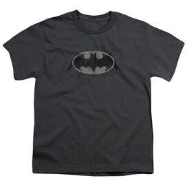 Batman Arcane Bat Logo Short Sleeve Youth T-Shirt