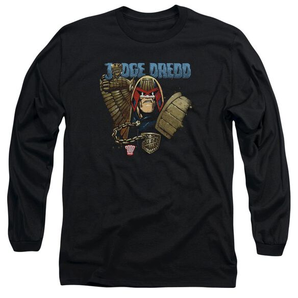 Judge Dredd Smile Scumbag Long Sleeve Adult T-Shirt