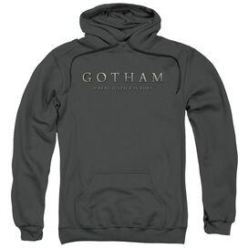 Gotham Logo Adult Pull Over Hoodie