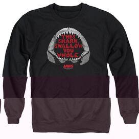 Jaws This Shark - Adult Crewneck Sweatshirt - Black