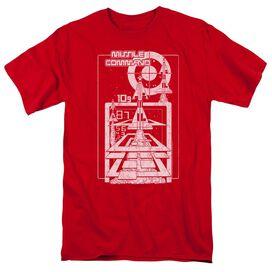 Atari Lift Off Short Sleeve Adult Red T-Shirt