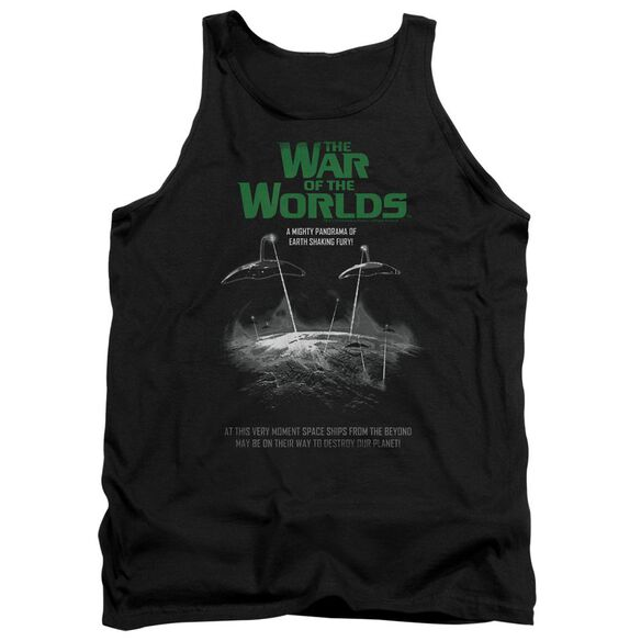 War Of The Worlds Attack Poster Adult Tank