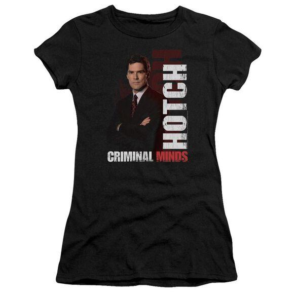 Criminal Minds Hotch Short Sleeve Junior Sheer T-Shirt