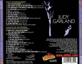 Judy Garland - That's Entertainment!/I Could Go on Singing