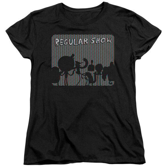 Regular Show Rgb Group Short Sleeve Womens Tee T-Shirt