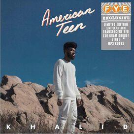 Khalid - American Teen [Exclusive Translucent Red Vinyl]