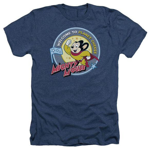 Mighty Mouse Planet Cheese Adult Heather