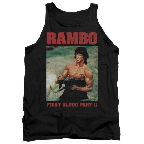 Rambo:First Blood Ii Dropping Shells Adult Tank