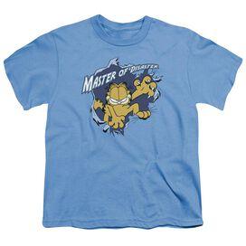 Garfield Master Of Disaster Short Sleeve Youth Carolina T-Shirt
