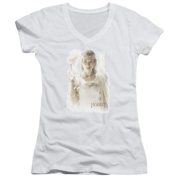 The Hobbit Galadriel Junior V Neck T-Shirt