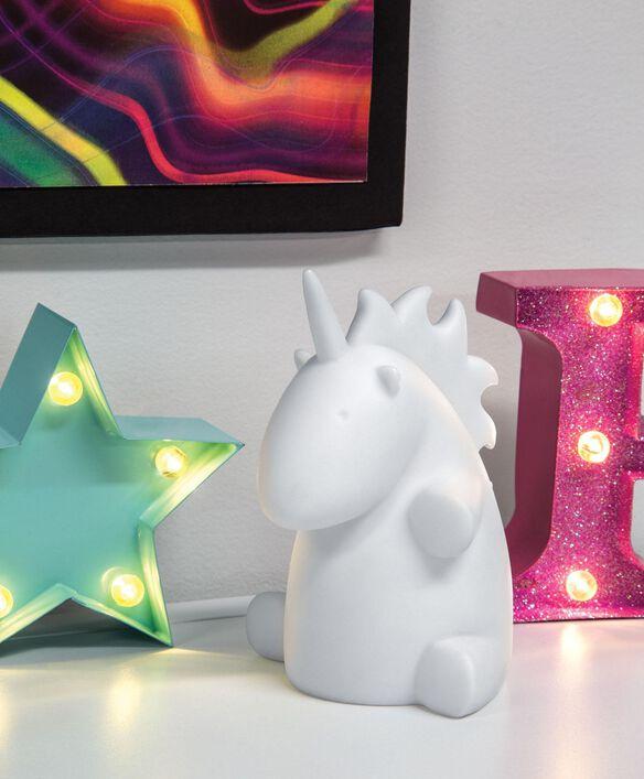 Mini Color Changing Unicorn LED Light-Up Decor