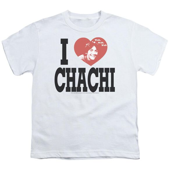 Happy Days I Heart Chachi Short Sleeve Youth T-Shirt
