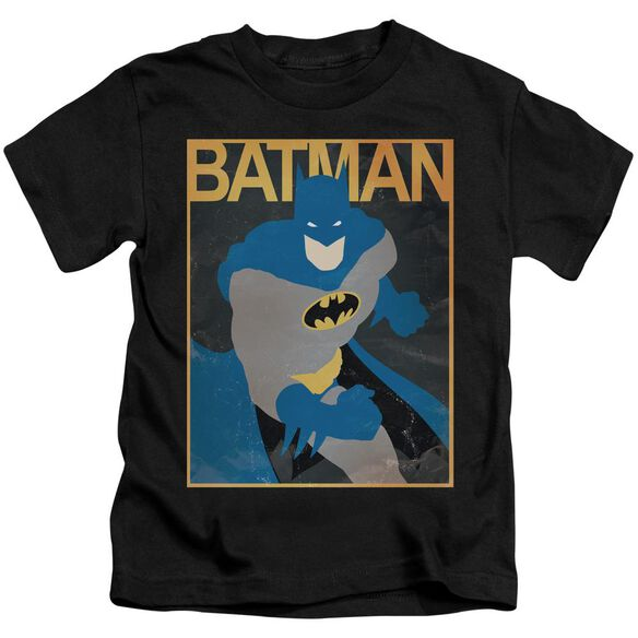 Batman Simple Bm Poster Short Sleeve Juvenile T-Shirt