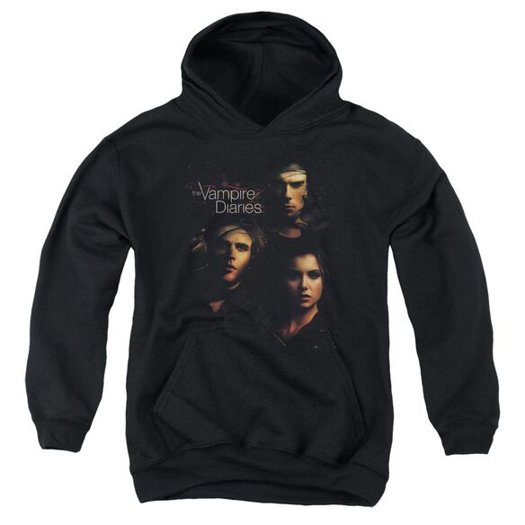 Vampire Diaries Smokey Veil Youth Pull Over Hoodie