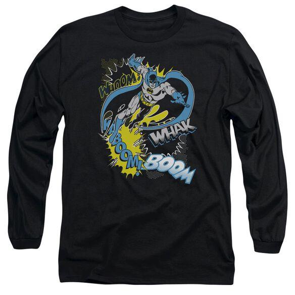 BATMAN BAT EFFECTS - L/S ADULT 18/1 - BLACK T-Shirt