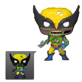 Marvel Zombies Wolverine Glow-in-the Dark Pop! Vinyl - EE Exclusive