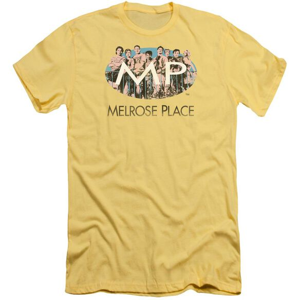 Melrose Place Meet At The Place Short Sleeve Adult T-Shirt