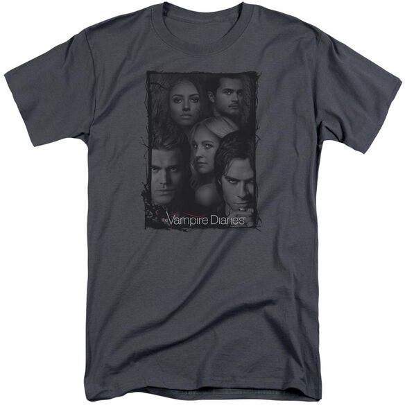 Vampire Diaries So Here We Are Short Sleeve Adult Tall T-Shirt