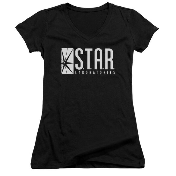 The Flash S.T.A.R. Junior V Neck T-Shirt