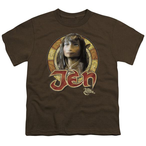 Dark Crystal Jen Circle Short Sleeve Youth T-Shirt