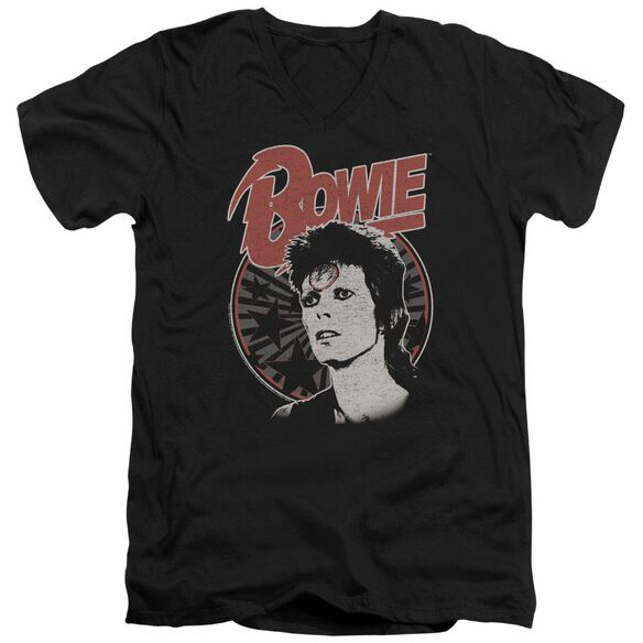 David Bowie Space Oddity Short Sleeve Adult V Neck T-Shirt