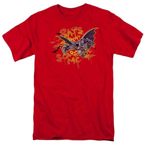 Batman Bats Dont Scare Me Short Sleeve Adult T-Shirt