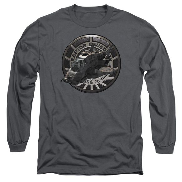 Bsg Raptor Squadron Long Sleeve Adult T-Shirt