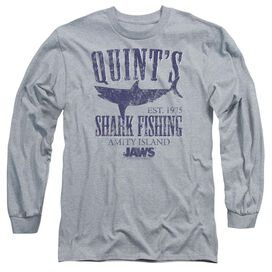 Jaws Quints Long Sleeve Adult Athletic T-Shirt