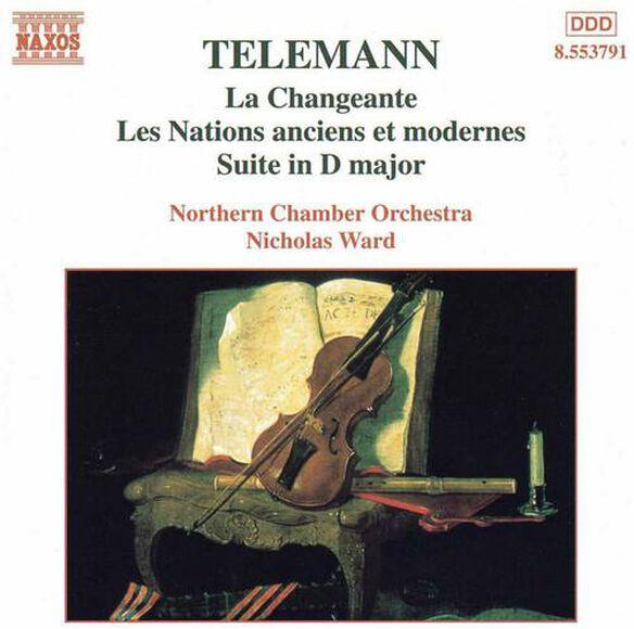 G.P. Telemann - Overture Suites / Changeante