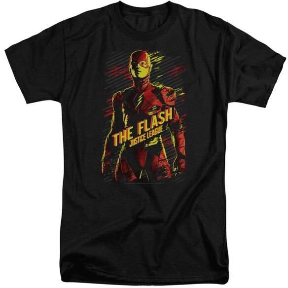 Justice League Movie The Flash Short Sleeve Adult Tall T-Shirt