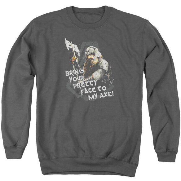 Lor Pretty Face Adult Crewneck Sweatshirt