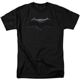 Justice League Movie Batman Logo Short Sleeve Adult T-Shirt