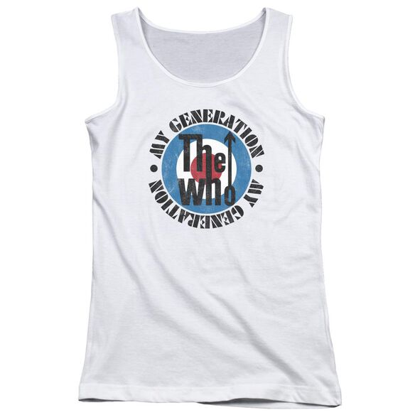 The Who My Generation Juniors Tank Top