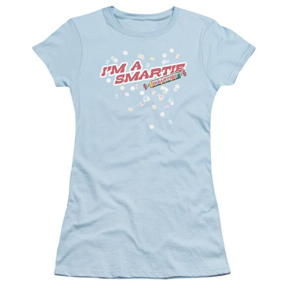 Smarties I'm A Smartie Short Sleeve Junior Sheer Light T-Shirt