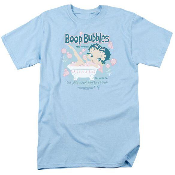 Betty Boop Boop Bubbles Short Sleeve Adult Light T-Shirt