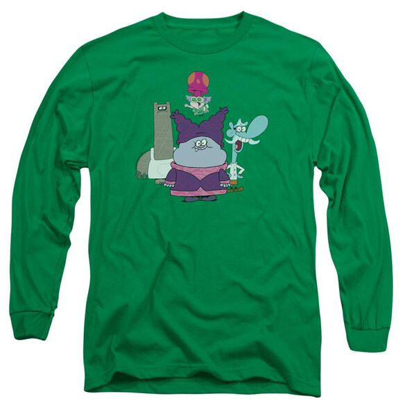 Chowder Group Long Sleeve Adult Kelly T-Shirt