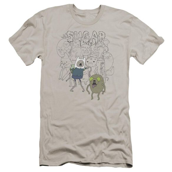 Adventure Time Sugar Zombies Hbo Short Sleeve Adult T-Shirt